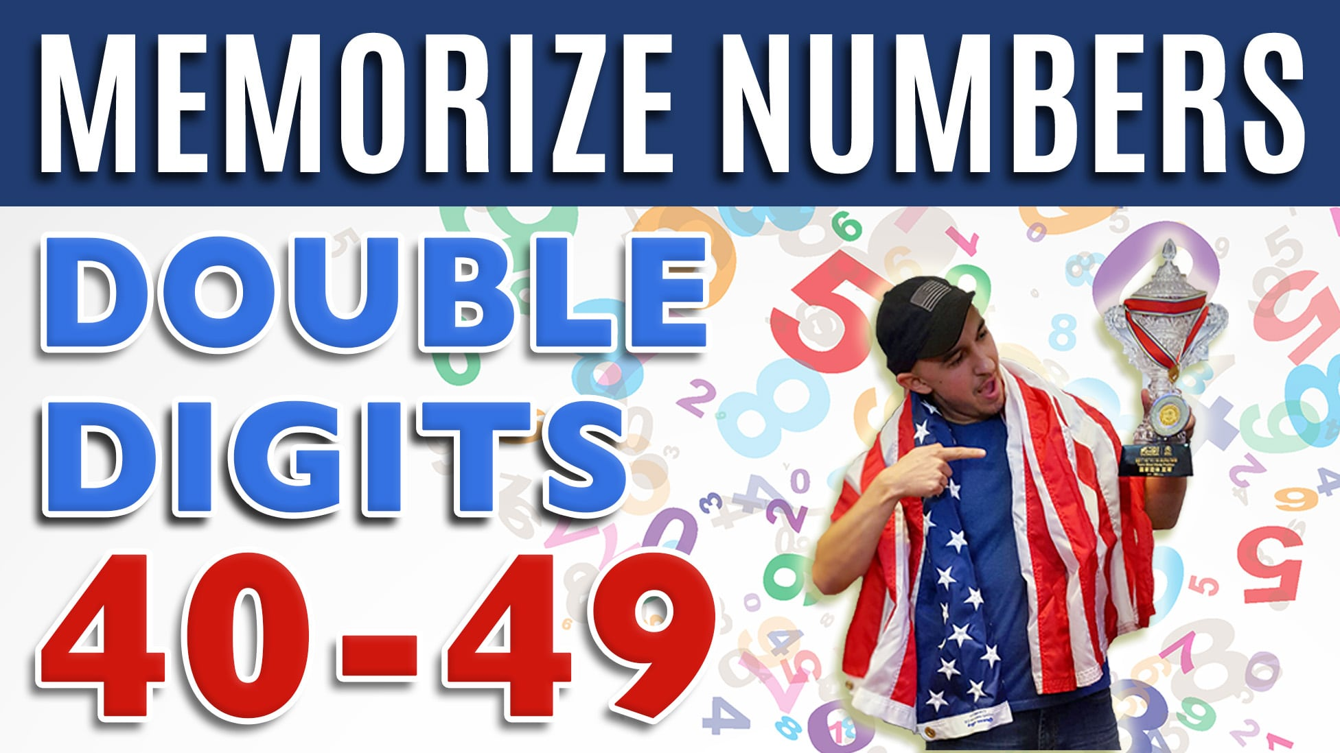 how to memorize numbers 40-49