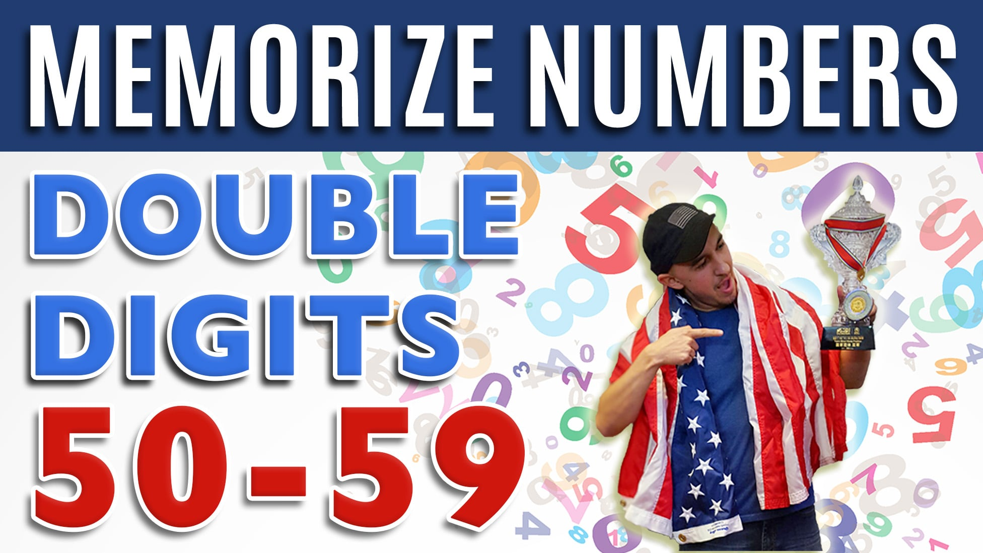 How to Memorize Numbers 50-59