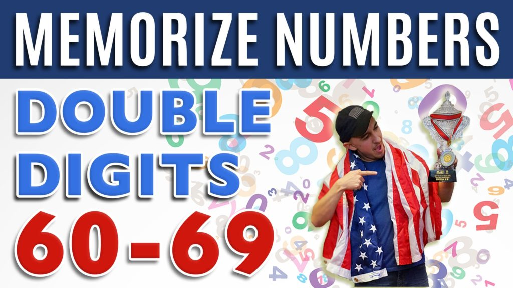 How to memorize numbers 60-69