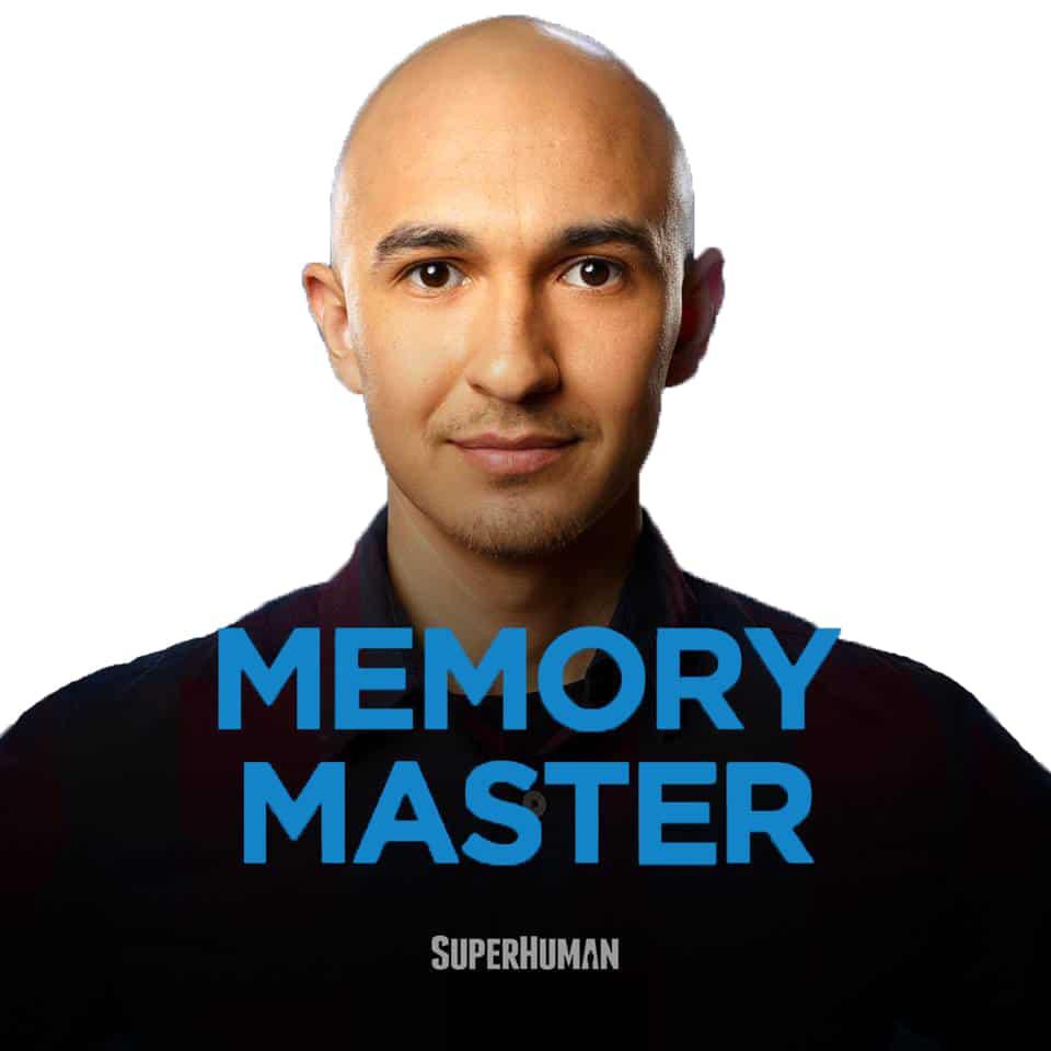 Memory Master Superhuman Luis Angel Blank