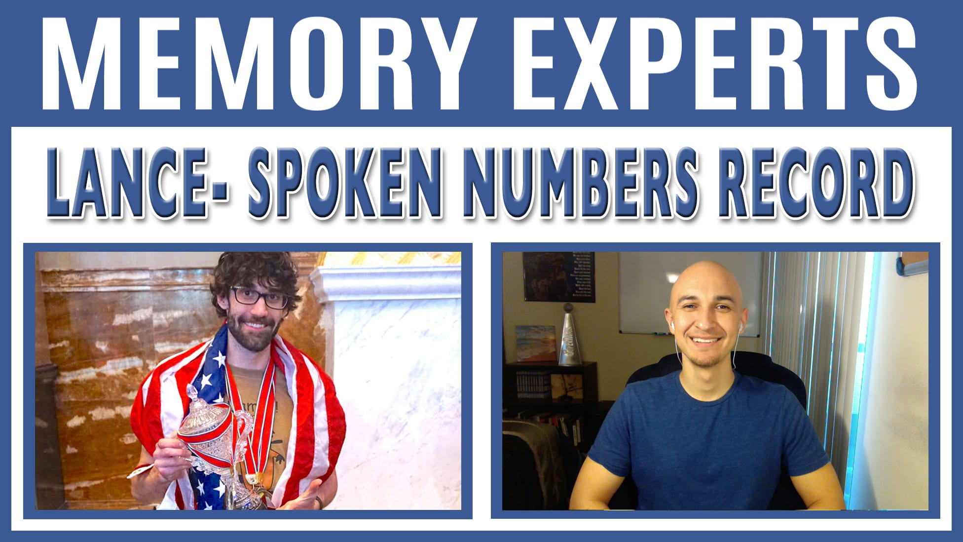 Lance - Spoken Numbers Record | Memory Experts with Luis Angel