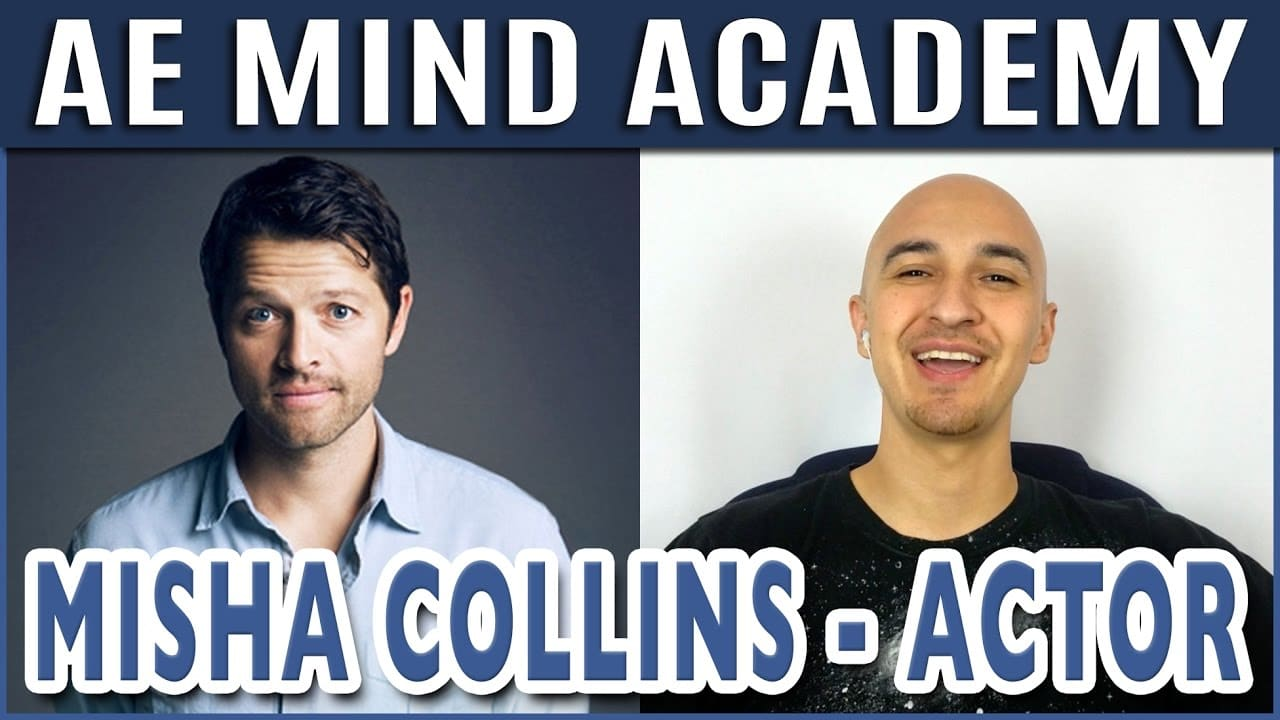 Misha Collins Supernatural Actor Interview W Superhuman Luis Angel