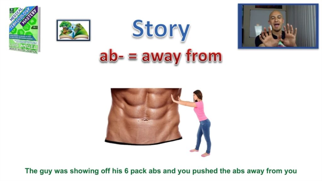 Ab Medical Term Prefix Mnemonic Meaning Definition Terminology