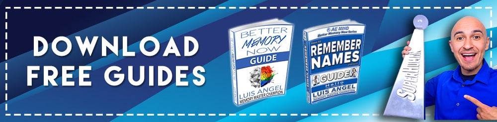 Free Memory Improvement Remember Names Guides