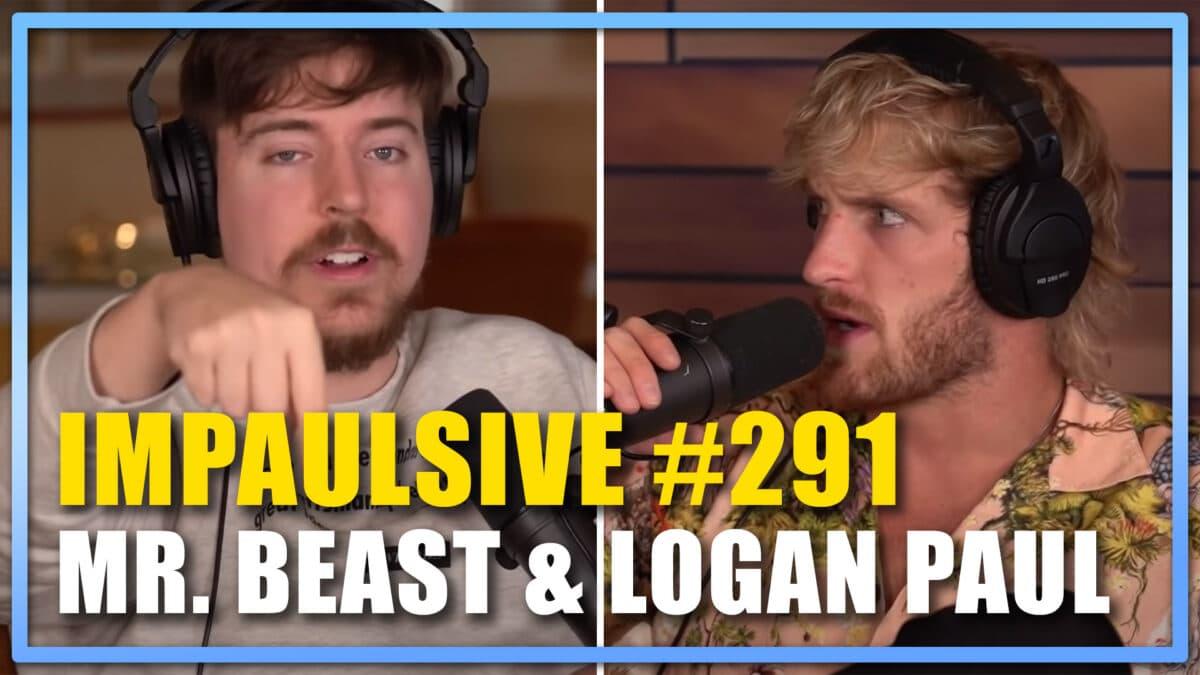 Logan Paul, Mr Beast Youtube NFT impaulsive Podcast Episode